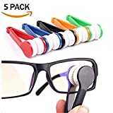 Sun Glasses Eyeglass Microfiber Spectacles Cleaner Brush Cleaning Tool (5pcs)