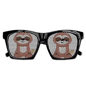 Yoga Sloth Unisex Polarized Party Sunglasses Resin Frame Eyewear Favor Mesh Lens Sun Glasses