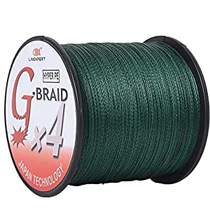 Linexpert g braid super strong multifilament for Amazon fishing line