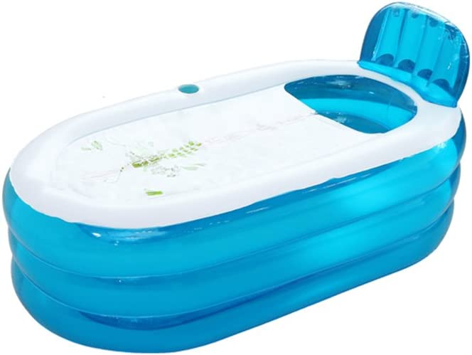 LYM & bañera Plegable Bañera Inflable Bañera Inflable para el ...