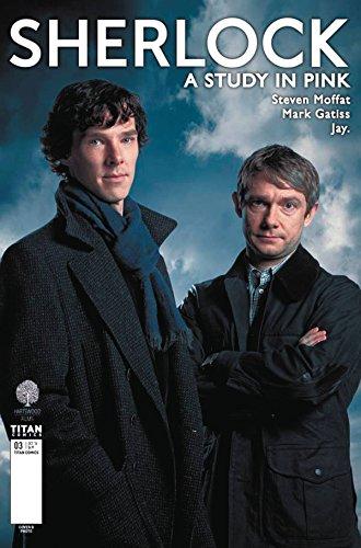 Sherlock A Study In Pink #3 (of 6) CVR B