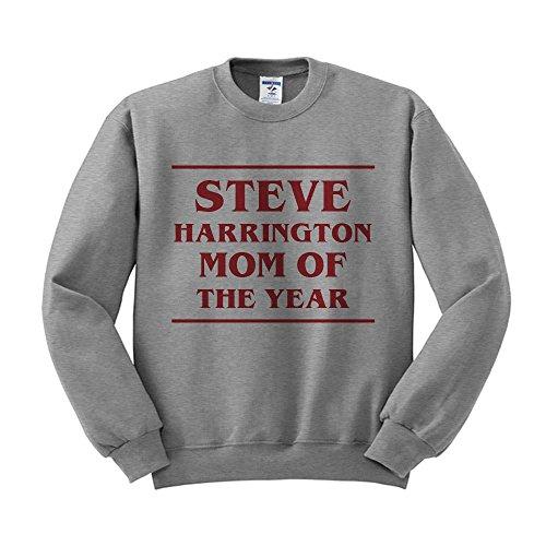 TeesAndTankYou Steve Harrington MOTY Sweatshirt Unisex Large Grey