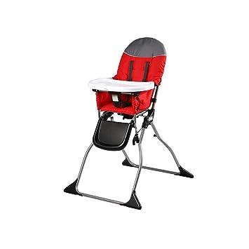ZXQZ Silla alta for bebé, silla for bebé Mesa de comedor portátil ...