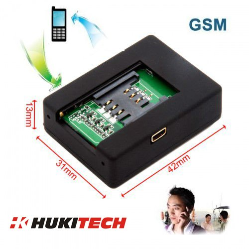 GSM Mobile Alarmanlage - Quadband mit Rü ckruffunktion - GSM Babyphone Baby Phone Tracker Alarm Anlage Rü ckruf Funktion HUKITECH HKT1032