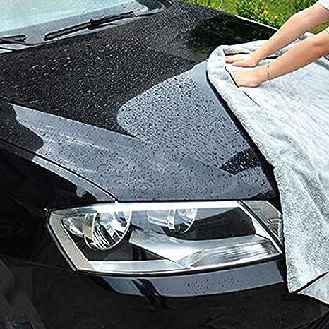 Enterrific Chiffons de Nettoyage de Voiture absorbants de Serviette de s/échage en Peluche Doux Portable de Lavage Auto Detailing