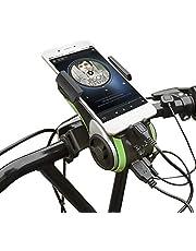 Bluetooth-Lautsprecher,UPPEL Tragbar Outdoor-Bluetooth-Lautsprecher,Portable Handle Outdoor Wireless Bluetooth Party Speakers mit Tragegriff Indoor Hands-Free Phone Call (Green)
