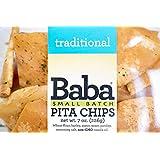 Baba Small Batch Pita Chips - Zero Preservatives, Vegan, Non-GMO