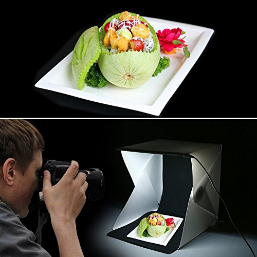 Foldable Mini Photo Studio Light Tent Kit Portable Room: NOPTEG Foldable Lightbox Portable Light Room Photo Studio