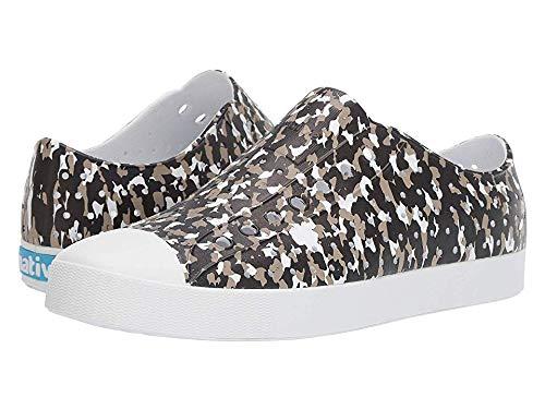 Native Shoes Unisex Jefferson Shell White/Shell White/Jiffy Konpeito Print 14 Women / 12 Men M US