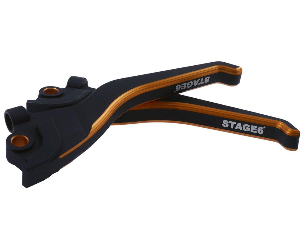 Bremshebelset STAGE6 CNC Yamaha Aerox//MBK Nitro schwarz