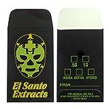 1000 El Santo Extracts Foil Shatter Labels Wax Strain Coin Envelopes #141