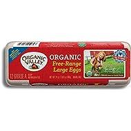 Organic Valley, Large Brown Free Range Organic Eggs - Dozen (12 ct)
