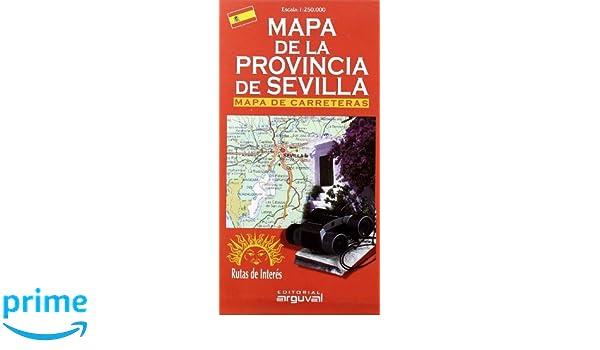Provincia De Sevilla Mapa.Mapa De La Provincia De Sevilla Mapas De Carreteras