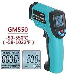 Non Contact Digital Laser Infrared Thermometer Temperature Gun 58 °f 1022 °f 50 °c 550 °c