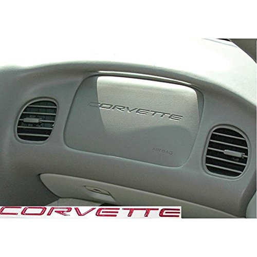 Eckler's Premier Quality Products 25286845 Corvette C5 Magnetic Red Lettering Kit 7.15