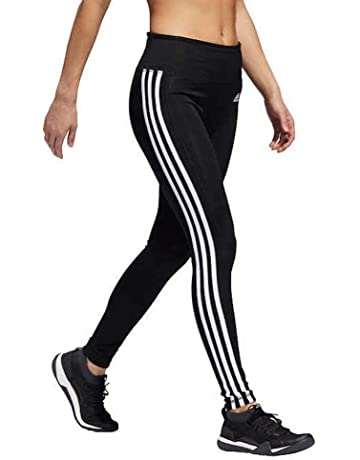 b183a07eb0ec adidas Womens 3 Stripe Active Tights Leggings