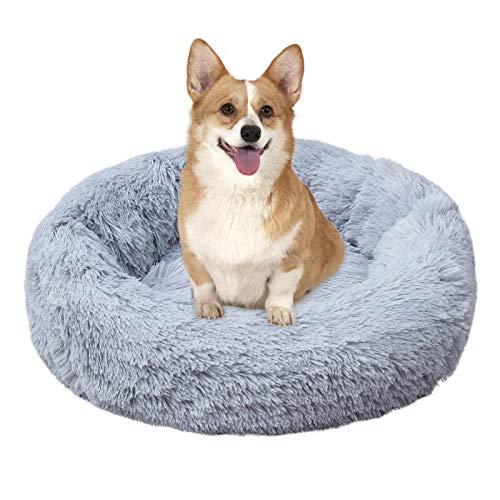 Brthspob Deluxe Round Pet Bett/Haustier-Nest für Hunde und Katzen,Klein Hund Bett Haustierbett Plüsch Weich Runden Katze…