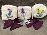 Flower Series Wool Scrubbies