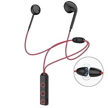 Auricular Bluetooth 4.1 Deporte, Auricular Magnético NANDEYIBI,IPX4 Auriculares Impermeablest, CVC 6.0 /