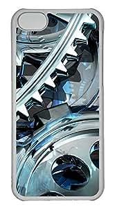 TYHH - iPhone 6 4.7 Case 3D Gear Design PC iPhone 6 4.7 Case Cover Transparent ending phone case