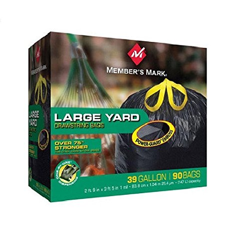 Member's Mark Power-Guard Yard Bags - 39 Gal. - 90 Count Member' s Mark MM39DSC090B