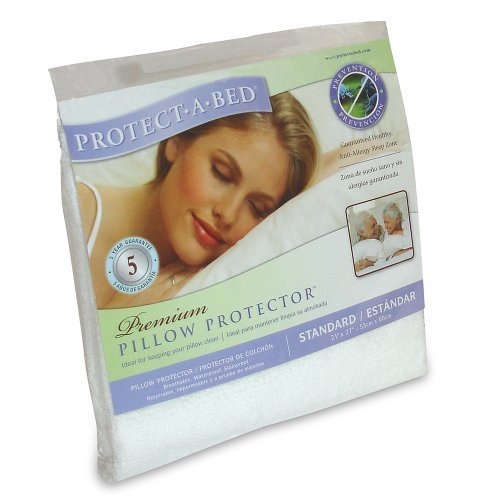 Amazon.com: Protect-A-Bed Premium Standard Pillow Protector: Home & Kitchen
