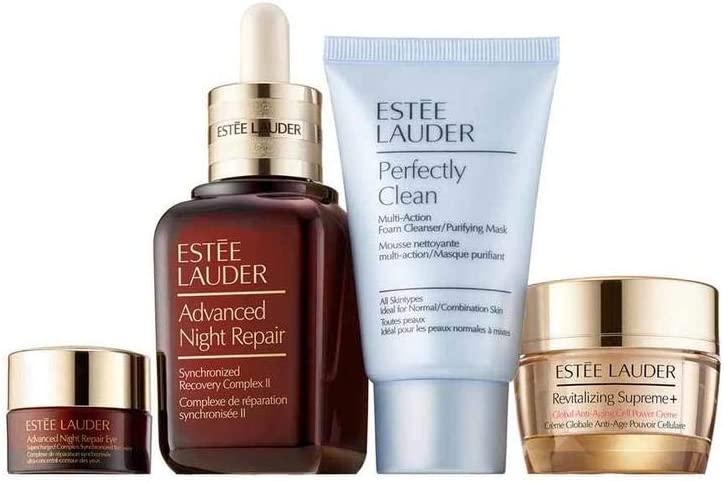 Estee Lauder Advanced Night Serum 50Ml+ Contorno De Ojos 5Ml + Revitalizing Supreme Crema 15Ml + Jabon Limpiador 30Ml 150 g: Amazon.es: Belleza