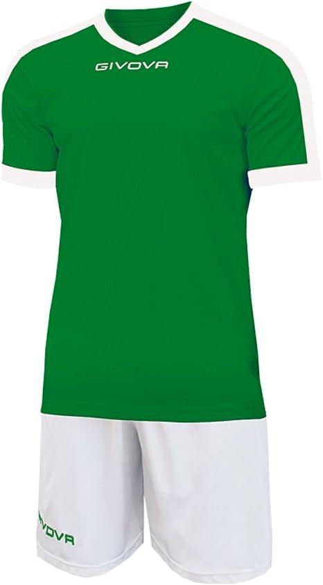TALLA L. Givova Kit Revolution Fútbol, Unisex Adulto