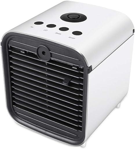 ZWCC Mini Ventilador de Aire Acondicionado portátil, Mini ...