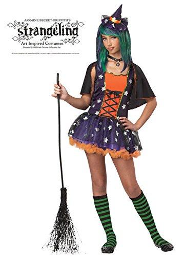 Mememall Fashion Strangeling Twilight Witch Girls Tween Costume (Girls Twilight Witch Costume)