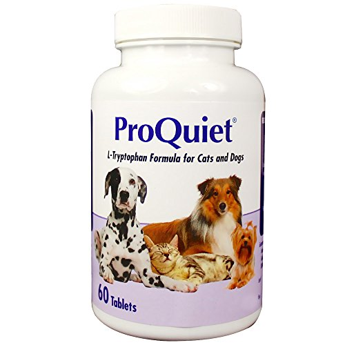 ProQuiet Calming Supplement for Cats and Dogs, 60 Chewable Tablets by Unknown