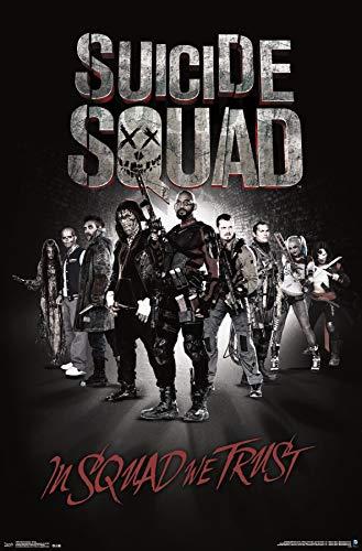 Enchantress Dc Comics (Trends International DC Comics Movie-Suicide Squad-Group Mount Bundle Wall Poster, 22.375
