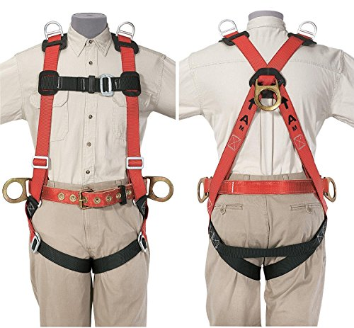 Klein Tools 87854 Fall-Arrest/Positioning/Retrieval Harness, 2X-Large by Klein Tools