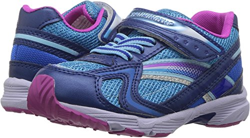 Kids Navy Sneaker Girl's Tsukihoshi Kid Berry Toddler Little Glitz RdBwqS