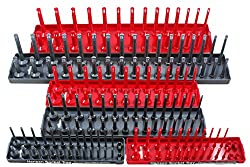 Hansen Global 92000 SAE & Metric Socket Storage Trays - 6 Piece Set