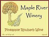 Pineapple Rhubarb Wine