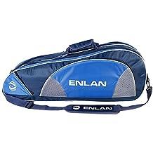 Simple Portable Badminton Equipment Bag Badminton Racket Bag BLUE