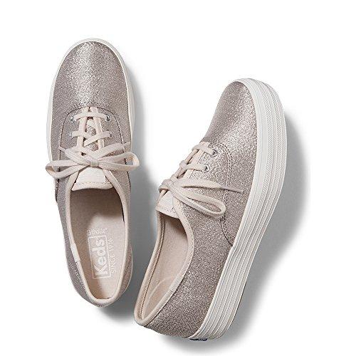 50e17367743 Galleon - Keds Women s Triple Lurex Fashion Sneaker
