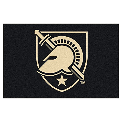 Fanmats Starter Rugs Military (Fanmats NCAA US Military Academy Black Knights Nylon Face Starter Rug)