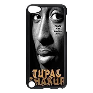 Cheap Hard Back Cover Case for Ipod Touch 5 Phone Case - Tupac Shakur HX-MI-053864