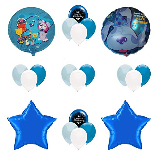Combined Brands Blue's Clues Birthday Party Supplies Balloon Decoration -