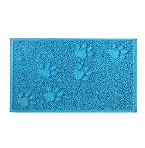 Amazon.com : Cat Litter Mat - Cat Mat Stops All Kitty Litter Tracking and Scatter from Cat Litter Box Non-Slip Cat Litter Mat Paw Shape : Pet Supplies
