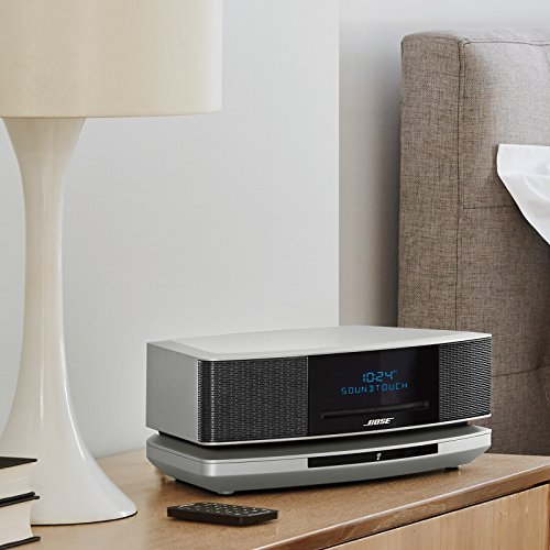 Bose Wave SoundTouch Music System IV, works with Alexa, Platinum Silver - 738031-1310
