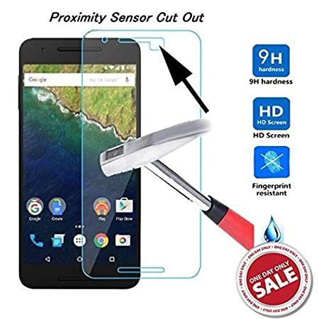 Kohinshitsu Platinum Series Screen Guard - Tempered Glass Screen Protector for Google Nexus 6P / Huawei Nexus 6P / Nexus 6P Mobile Phone 2015 Model Screen guards at amazon