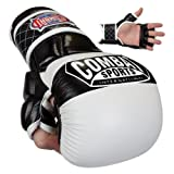 Combat Sports Max Strike MMA Training Gloves (White, Regular)