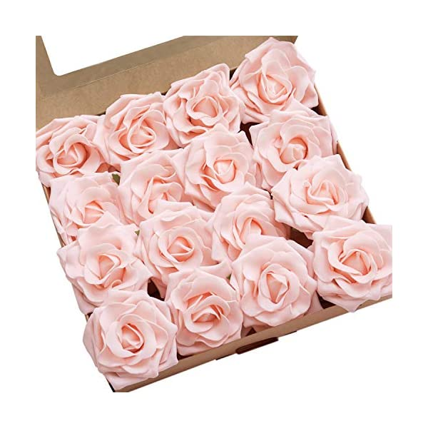 Lings-moment-Artificial-Flowers-16pcs-Sweet-Avalanche-Roses-for-DIY-Wedding-Bouquets-Centerpieces-Arrangements-Party-Baby-Shower-Home-Decorations