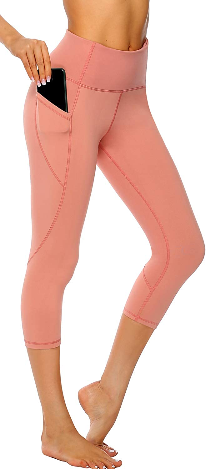 Persit Womens Yoga Pants High Waisted Leggings with Pockets Workout Exercise Leggings for Women