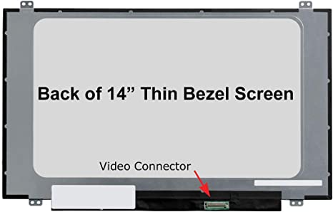 Matte HD 1366x768 SCREENARAMA New Screen Replacement for HP 14-CK0065ST LCD LED Display with Tools