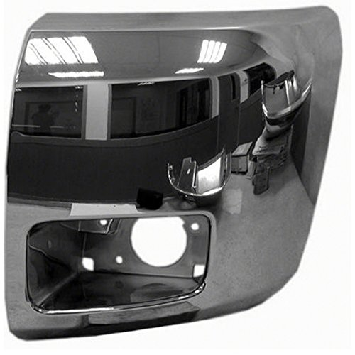 Chrome Front Bumper Extension Outer for 07-13 ()