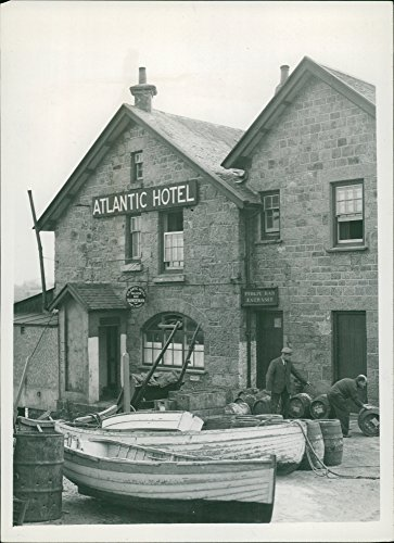 (Vintage photo of Isles of Scilly (the fortunate island))